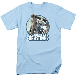 Image of Archer & Armstrong Shirt Smack Down Light Blue T-Shirt