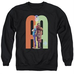 Image of Archer & Armstrong Sweatshirt Back To Back Adult Black Sweat Shirt