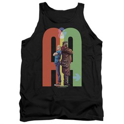 Image of Archer & Armstrong Tank Top Back To Back Black Tanktop