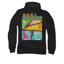 Image of Archie Hoodie The Archies Black Sweatshirt Hoody