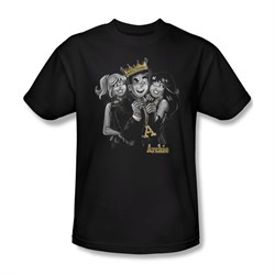 Image of Archie Shirt Bling Black T-Shirt