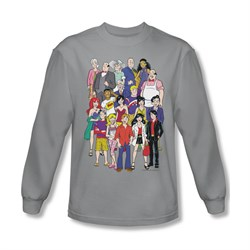 Image of Archie Shirt Cast Long Sleeve Silver Tee T-Shirt