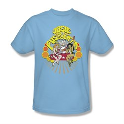 Image of Archie Shirt Groovy Rock And Roll Light Blue T-Shirt