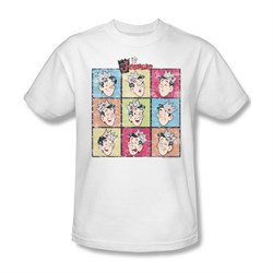 Image of Archie Shirt Jughead Faces White T-Shirt