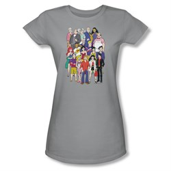 Image of Archie Shirt Juniors Cast Silver T-Shirt
