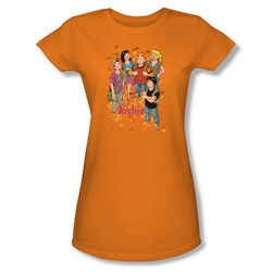 Image of Archie Shirt Juniors Fall Orange T-Shirt