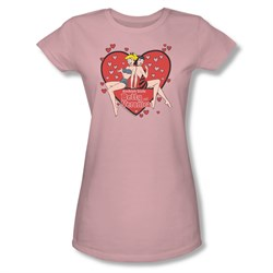 Image of Archie Shirt Juniors The Girls Pink T-Shirt