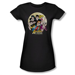 Image of Archie Shirt Juniors Vampires Black T-Shirt