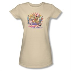Image of Archie Shirt Juniors With The Band Cream T-Shirt