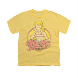 Image of Archie Shirt Kids Betty Distressed Banana T-Shirt