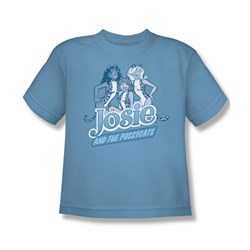 Image of Archie Shirt Kids Josie Carolina Blue T-Shirt