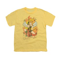Image of Archie Shirt Kids Josie Fire Banana T-Shirt