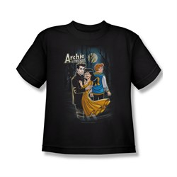 Image of Archie Shirt Kids Mocking Twilight Black T-Shirt