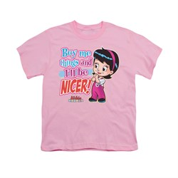 Image of Archie Shirt Kids Nicer Pink T-Shirt