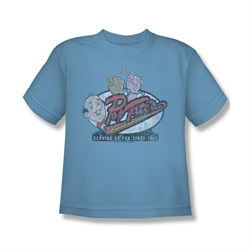 Image of Archie Shirt Kids Pop Tates Carolina Blue T-Shirt