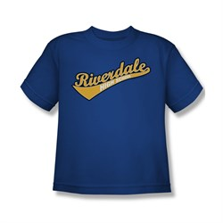 Image of Archie Shirt Kids Riverdale High School Royal Blue T-Shirt