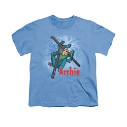 Image of Archie Shirt Kids Ski Carolina Blue T-Shirt