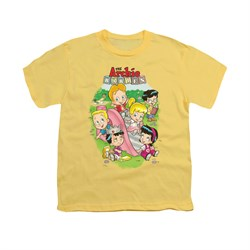 Image of Archie Shirt Kids Slide Banana T-Shirt