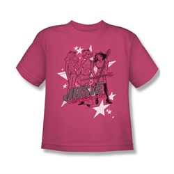 Image of Archie Shirt Kids Star Rockers Hot Pink T-Shirt