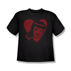 Image of Archie Shirt Kids Veronica Heart Black T-Shirt