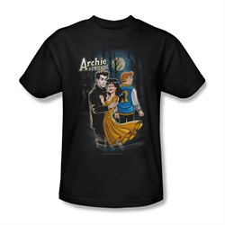 Image of Archie Shirt Mocking Twilight Black T-Shirt