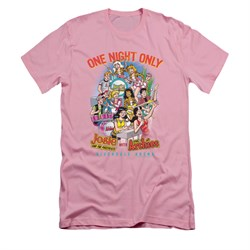 Image of Archie Shirt Slim Fit One Night Only Pink T-Shirt