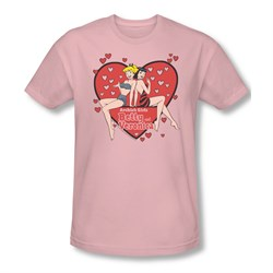 Image of Archie Shirt Slim Fit The Girls Pink T-Shirt