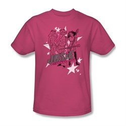 Image of Archie Shirt Star Rockers Hot Pink T-Shirt