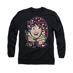 Image of Archie Shirt Veronicas Thoughts Long Sleeve Black Tee T-Shirt