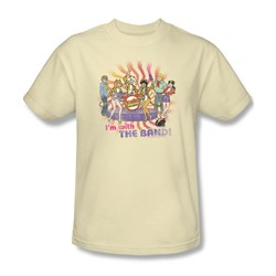 Image of Archie Shirt With The Band Cream T-Shirt