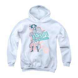 Image of Archie Youth Hoodie Glam Rockers White Kids Hoody