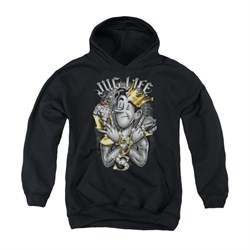 Image of Archie Youth Hoodie Jug Life Black Kids Hoody