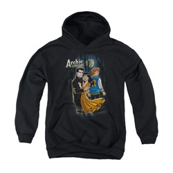 Image of Archie Youth Hoodie Mocking Twilight Black Kids Hoody