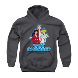 Image of Archie Youth Hoodie Why Choose Charcoal Kids Hoody
