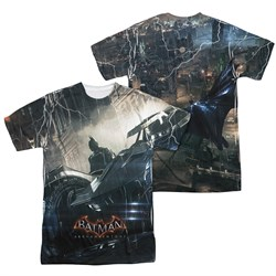 Image of Arkham Knight Shirt Car Sublimation Shirt Front/Back Print