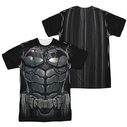 Image of Arkham Knight Shirt Costume Sublimation Shirt Front/Back Print