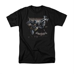 Image of Arkham Knight Shirt Grapple Gun Black T-Shirt