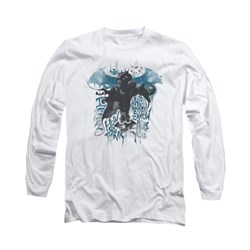 Image of Arkham Knight Shirt I Know Long Sleeve White Tee T-Shirt