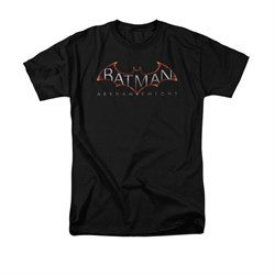 Image of Arkham Knight Shirt Logo Black T-Shirt