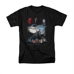 Image of Arkham Knight Shirt Spot Light Black T-Shirt