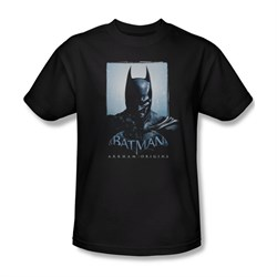 Image of Arkham Origins Shirt Two Sides Black T-Shirt