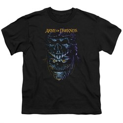 Image of Army Of Darkness Kids Shirt Evil Ash Black T-Shirt