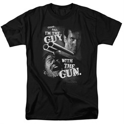 Image of Army Of Darkness Shirt Guy With The Gun Black T-Shirt