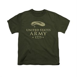 Image of Army Shirt Kids 1775 Olive T-Shirt