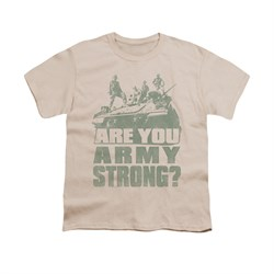 Image of Army Shirt Kids Are You Cream T-Shirt