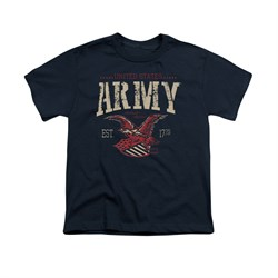 Image of Army Shirt Kids Est 1775 Navy T-Shirt