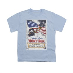 Image of Army Shirt Kids Pearl Harbor Light Blue T-Shirt