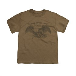 Image of Army Shirt Kids Property Of Safari Green T-Shirt