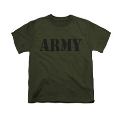 Image of Army Shirt Kids PT Gear Olive T-Shirt