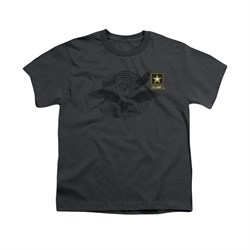 Image of Army Shirt Kids The Union Olive T-Shirt